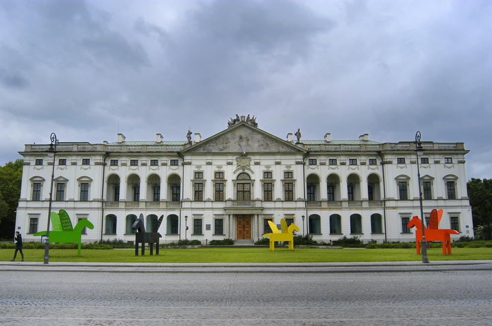 Palace of the Commonwealth (Krasiński) in Warsaw