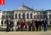 A delegation of the Financial Department of the Ministry of Culture and National Heritage visits the Palace of the Commonwealth