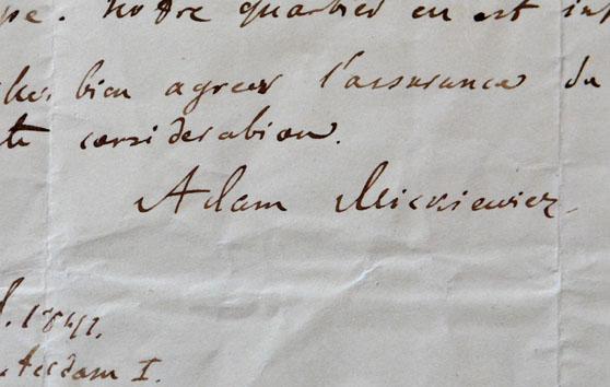 Adam Mickiewicz Aktualności Bn Biblioteka Narodowa